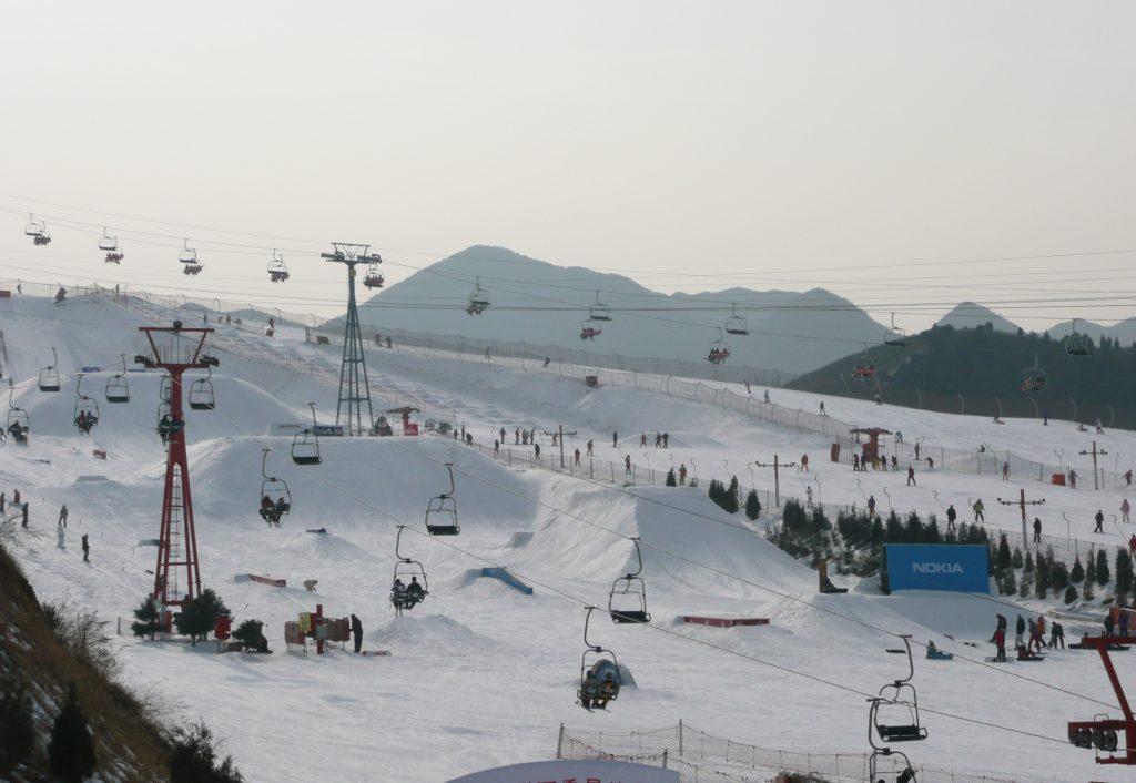 School Ski Trip China