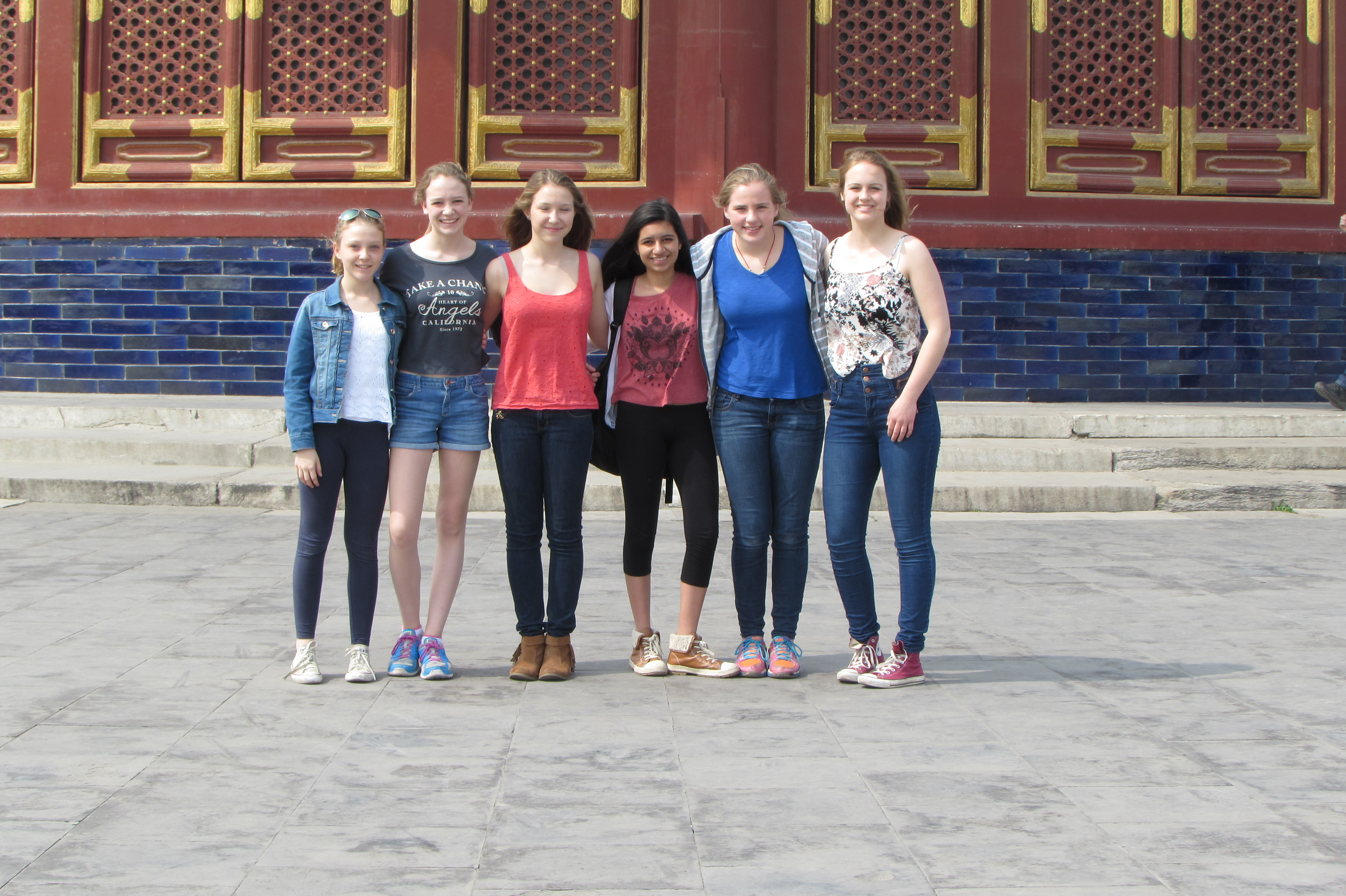 business studies mandarin culture school trip to China