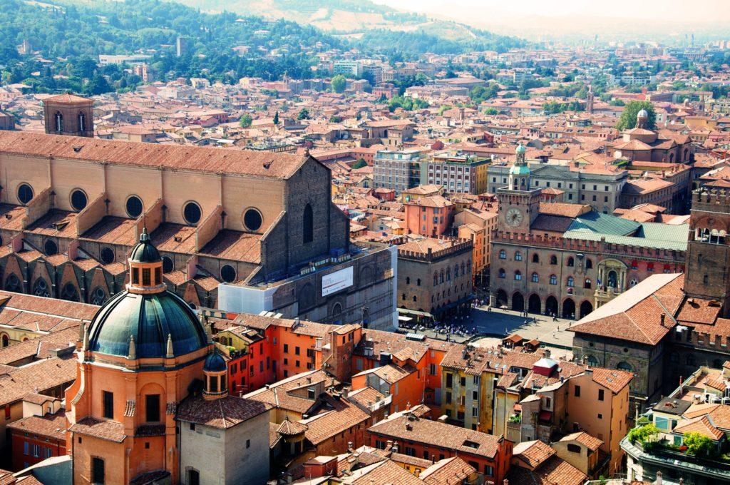business trip to Rome Bologna