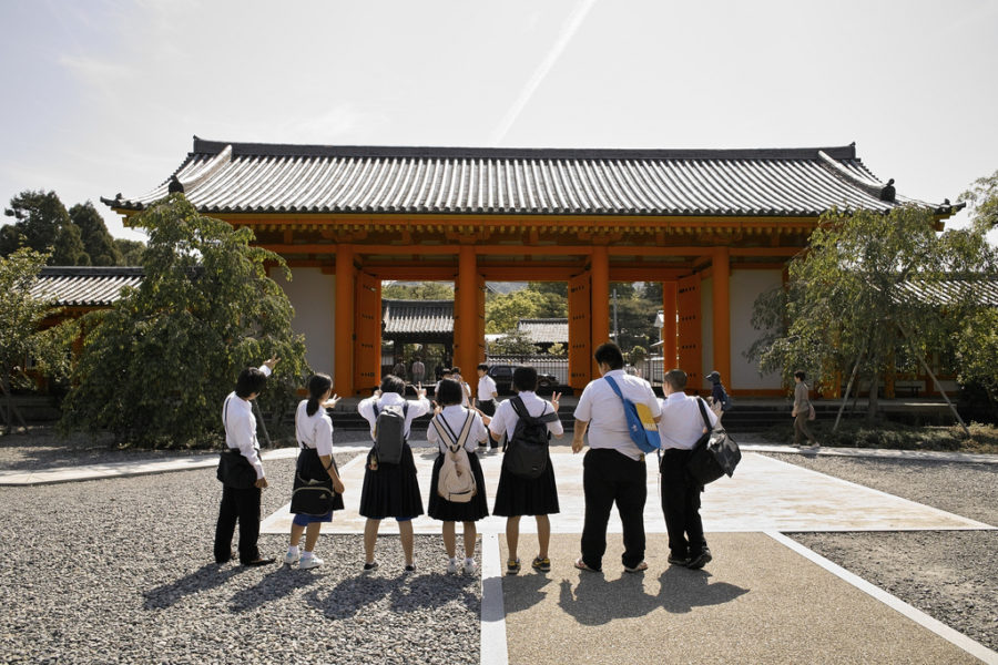 Students in Kyoto