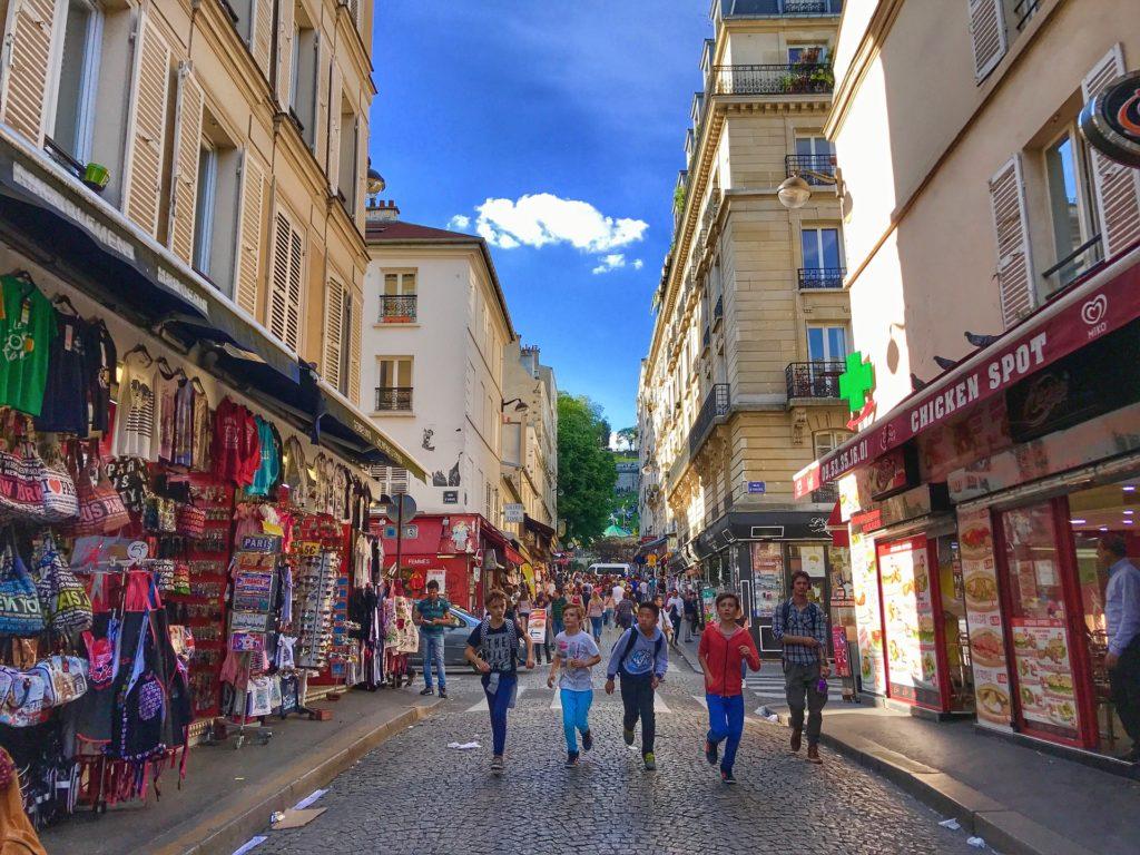 literature school trip to Paris