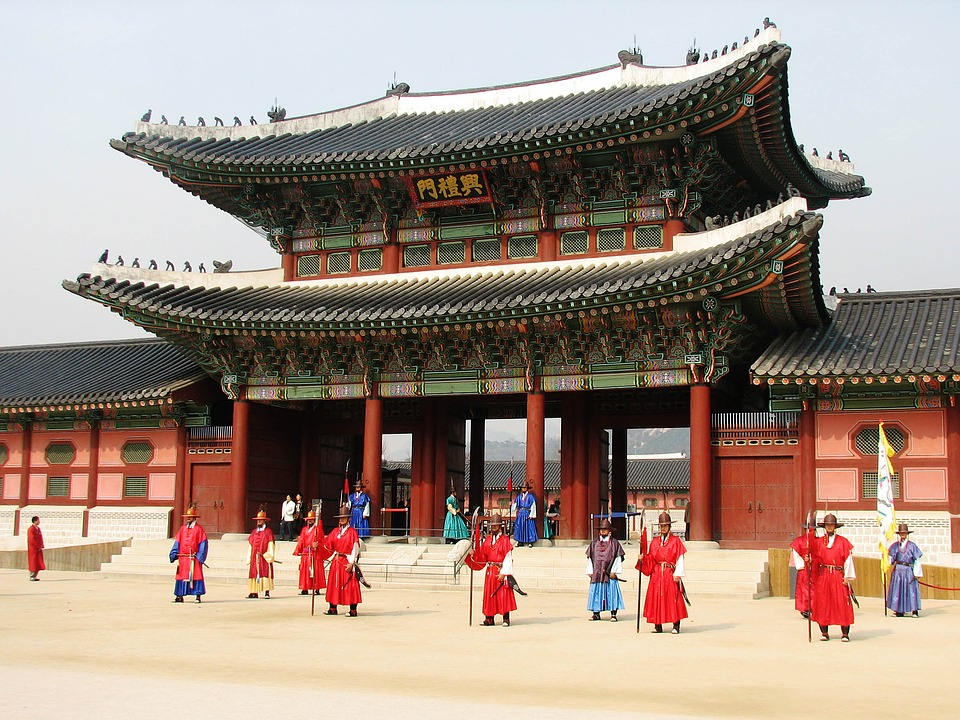 Gyeongbokgung Palace on school trip