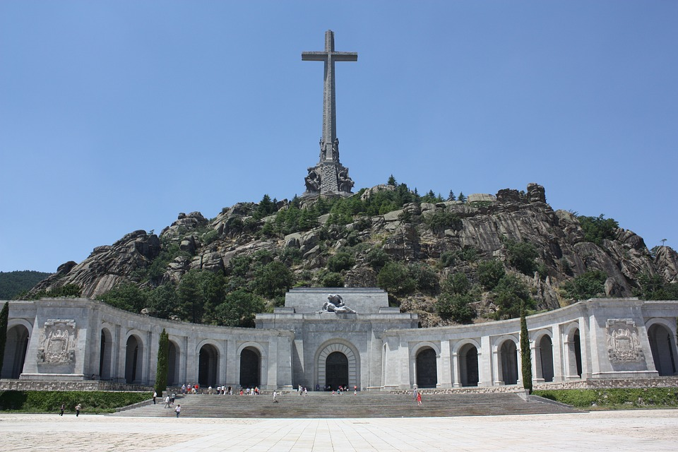 Valley of the Fallen in Spain