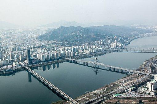 seoul view on school trip