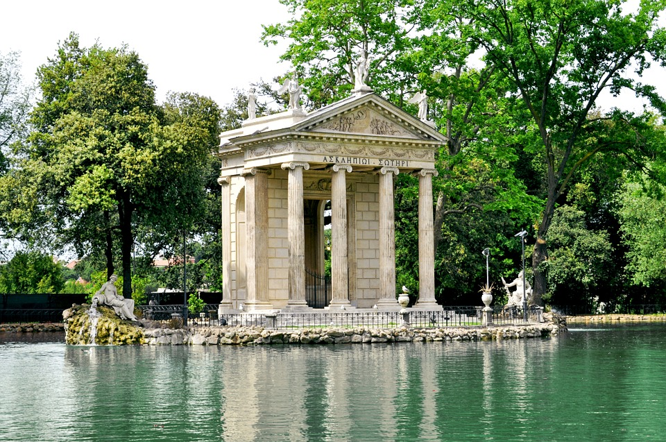 villa borghese on classical civilisation school trip