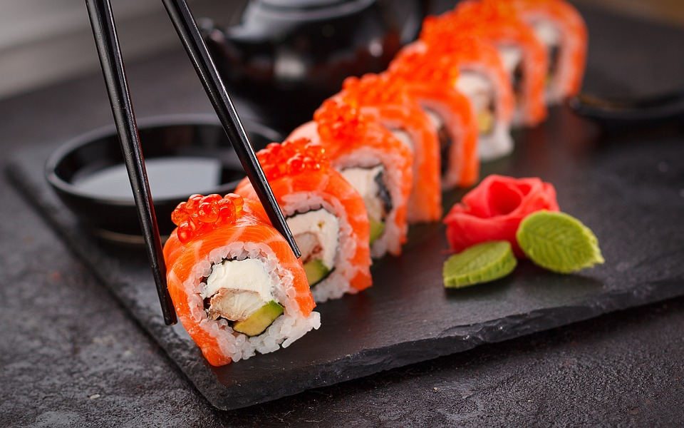 sushi class school trip