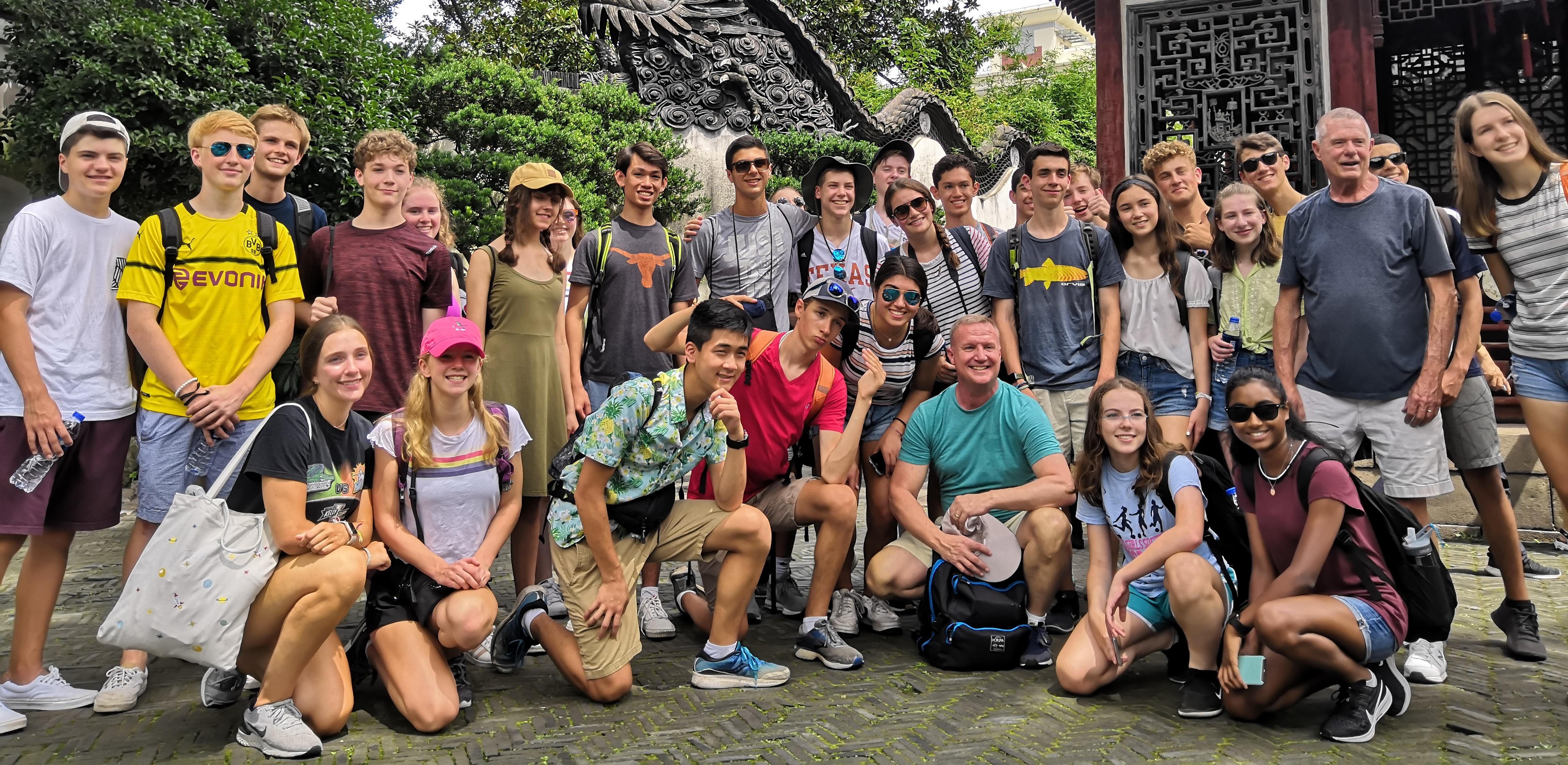 yu yuan gardens educational tour