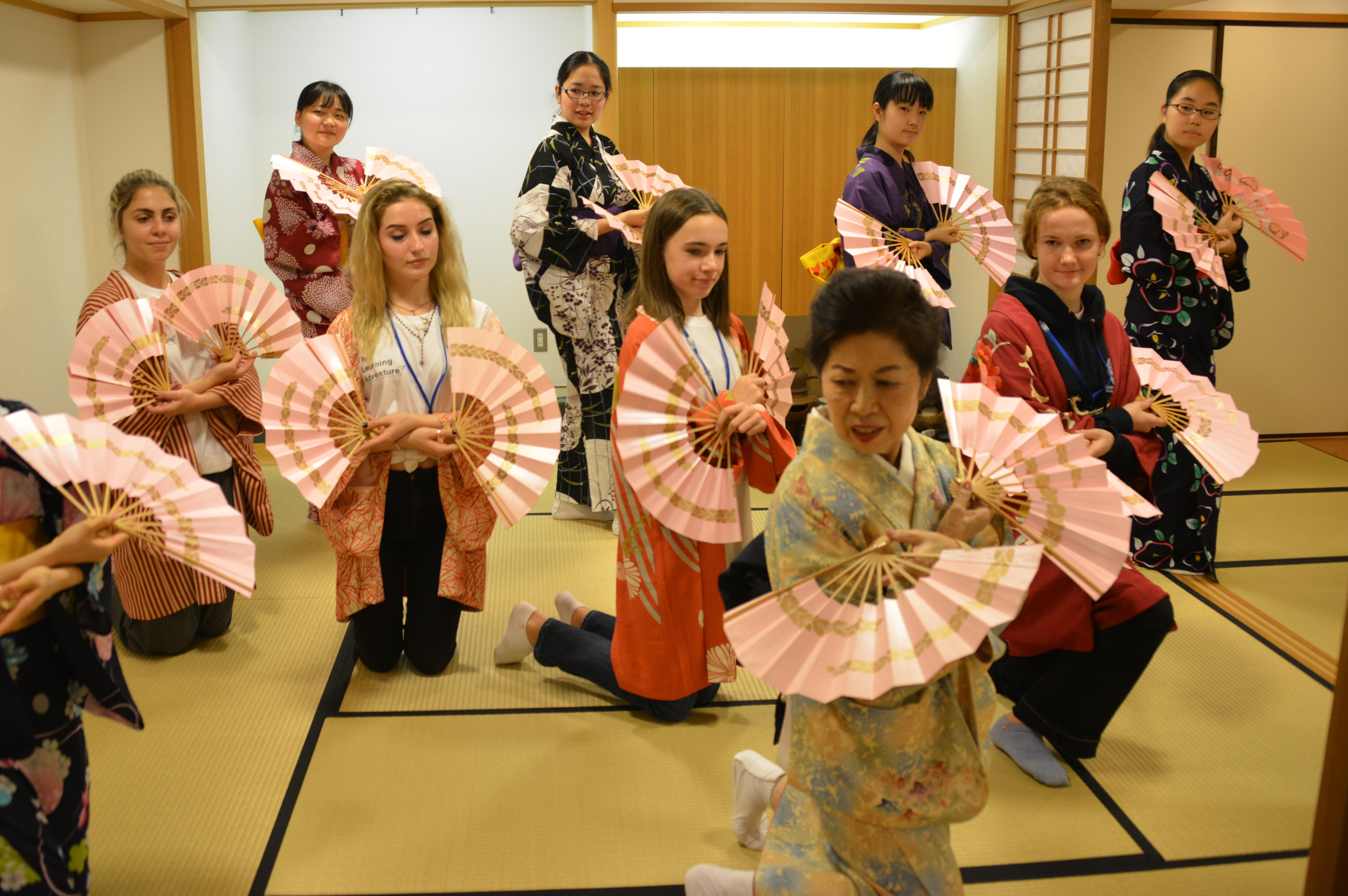 japan school trip